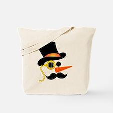 Classy Snowman Tote Bag