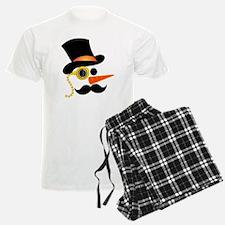 Classy Snowman Pajamas