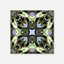 "Plant Pattern Square Sticker 3"" x 3"""