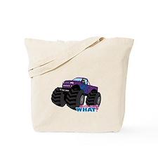 Monster Truck Driver Girl - Dark Tote Bag