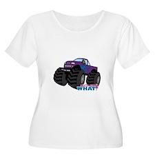 Monster Truck Driver Girl - Dark T-Shirt