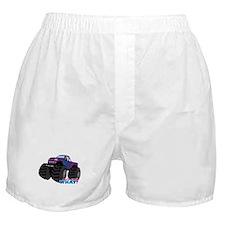 Monster Truck Driver Girl - Dark Boxer Shorts
