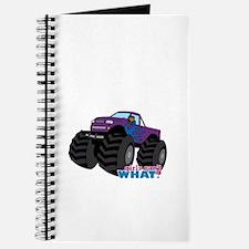 Monster Truck Driver Girl - Dark Journal