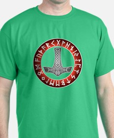 Mjölnir Rune Shield T-Shirt