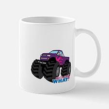 Monster Truck Driver Girl - Light/Blonde Mug