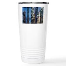 Astor Place reflections Travel Coffee Mug