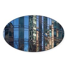 Astor Place reflections  Decal
