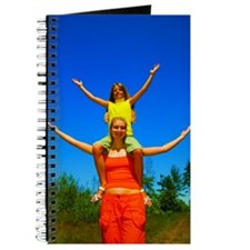 Girls with arms open Journal