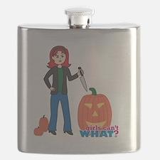 Pumpkin Carver Light/Red Flask
