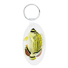 Oval Butterflyfish fish Keychains