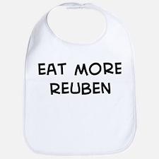 Eat more Reuben Bib