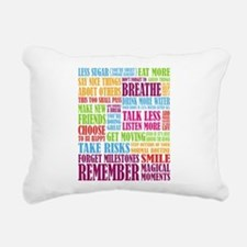 Remember Rectangular Canvas Pillow