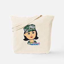 Marine Medium Head Tote Bag