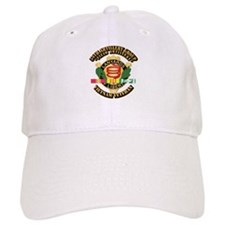 Army - 54th Artillery Group w Svc Ribbon Baseball Cap