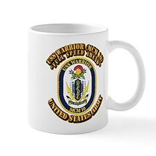 USS Warrior (MCM 10) With Text Mug