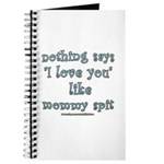 Funny Mommy Spit Joke Journal