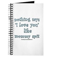 Funny Mommy Spit Joke Journal