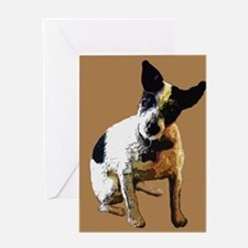 TAZ TERRIER Greeting Cards