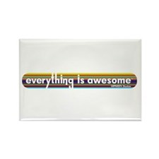 Everything is Awesome - Stripe Magnets