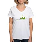 TotallyFreeCrap Women's V-Neck T-Shirt