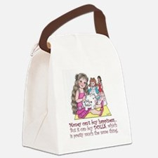 Dolly Dollars Canvas Lunch Bag