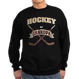 Hockey grandpa Sweatshirt (dark)