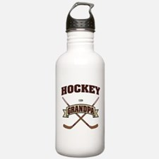 Hockey Grandpa Water Bottle