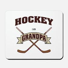 Hockey Grandpa Mousepad