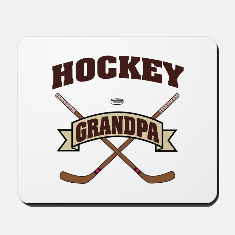 Hockey Grandpa Mousepad