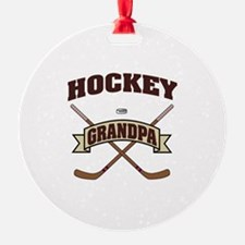 Hockey Grandpa Ornament