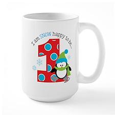 Penguin 1st Birthday Mug
