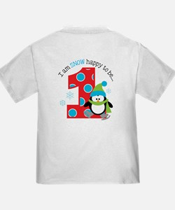 Penguin 1st Birthday T
