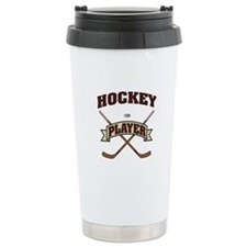 Hockey Player Travel Mug
