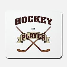 Hockey Player Mousepad