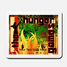 Personalize Katniss Girl On Fire Mousepad