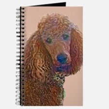 RED POODLE LOVE Journal