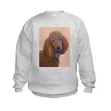 RED POODLE LOVE Sweatshirt