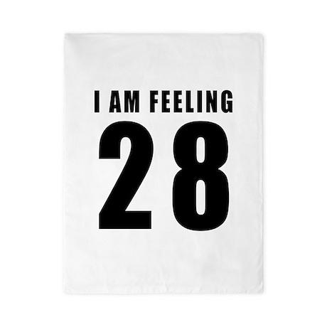 I am feeling 28 Twin Duvet