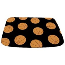 Basketball Pattern Bathmat