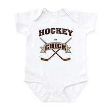 Hockey Chick Infant Bodysuit