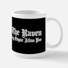 The Raven by Edgar Allan Poe - White Mugs