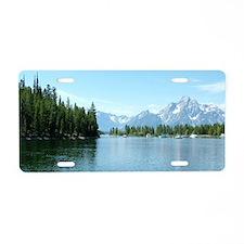 Grand Teton National Park l Aluminum License Plate