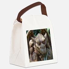 Photo of Gargoyle Statue Canvas Lunch Bag