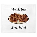 Waffles Junkie King Duvet