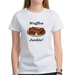Waffles Junkie Women's T-Shirt