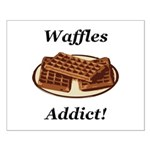 Waffles Addict Small Poster