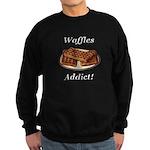 Waffles Addict Sweatshirt (dark)