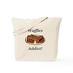 Waffles Addict Tote Bag
