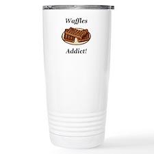 Waffles Addict Travel Coffee Mug