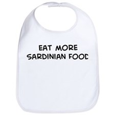 Eat more Sardinian Food Bib